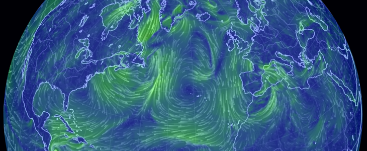 Live Earth Wind Map.How I Built A Wind Map With Webgl Points Of Interest