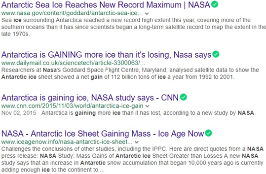 """Now these same reports are saying over the last 10 years it's been """"melting  three times faster than normal"""". Well, which is it?"""