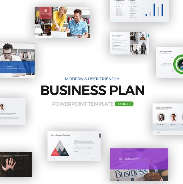 10 best business plan templates for startup funding pitch deck this powerpoint can be used for real estate market review new business funding request product review marketing and promotions post launch review flashek Choice Image