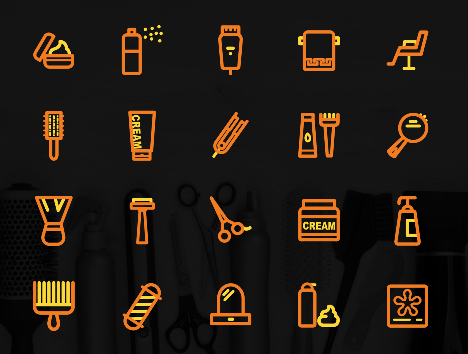 salon icon pack free psd download are you looking for salon icon pack png or psd we have 20 free resources for you a complete set of salon app