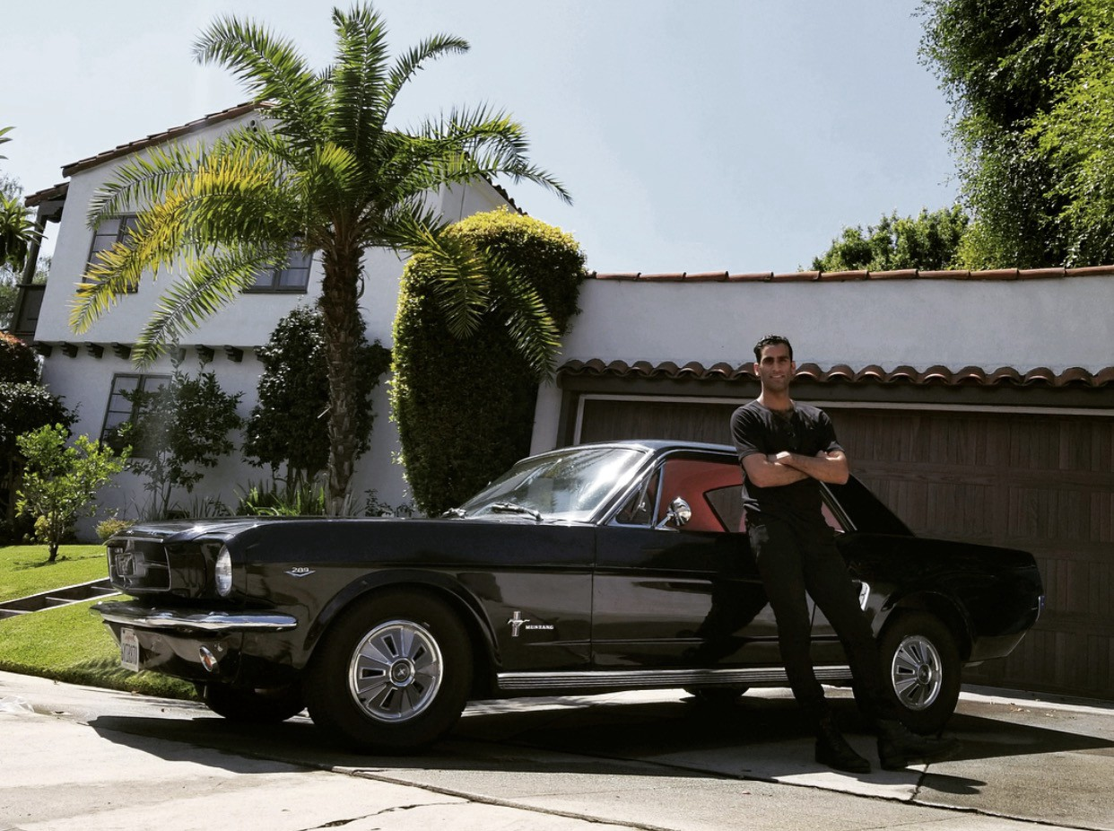 Marc exclaimed done deal find a 65 mustang and i will pay for that too