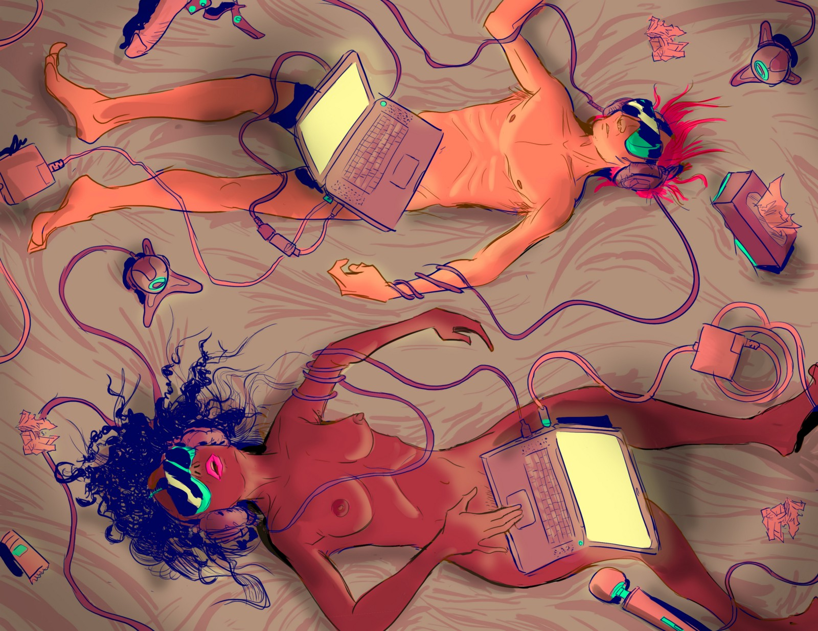 A four-month quest to experience porn's overhyped virtual-reality future.