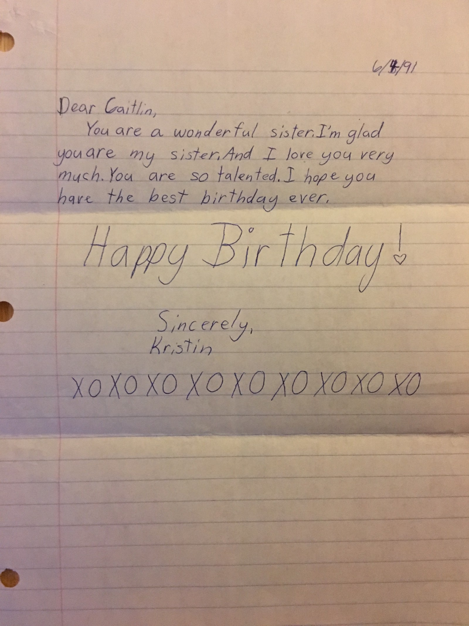 im very fortunate for all the opportunities i had to adopt her behavior case in point best happy birthday to my big sister letter image collection