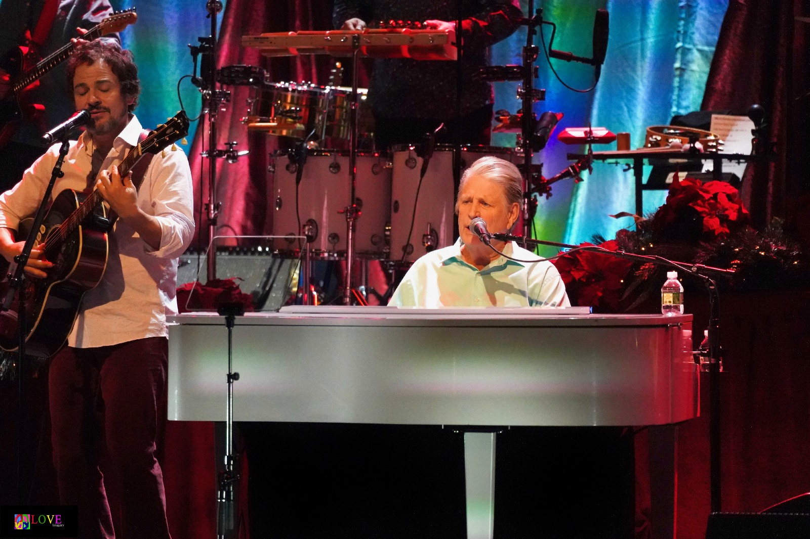"""detailed look 83649 6575e Opening up with a festive version of The Beach Boys  """"Little Saint Nick,""""  band members — including Wilson s son-in-law Rob Bonfiglio — add harmonized  """"oohs"""" ..."""