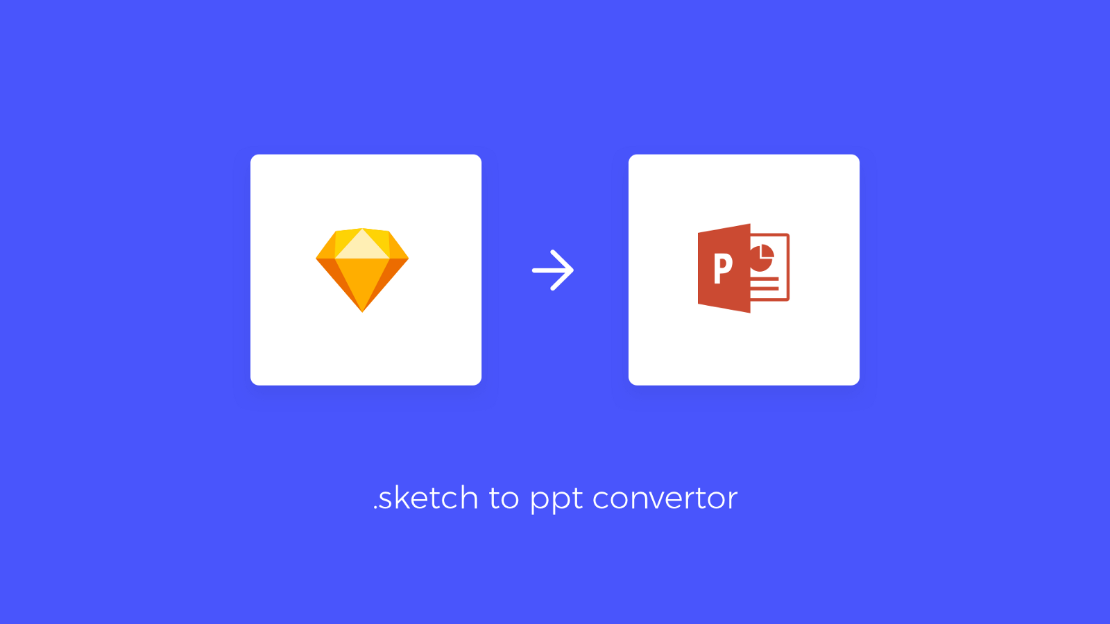 time to design ppt key presentations right in sketch and convert