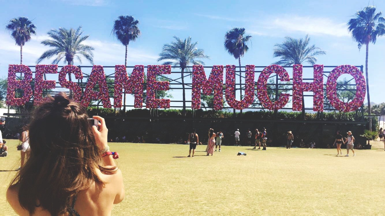Coachella, I love you  But you're bringing me down""