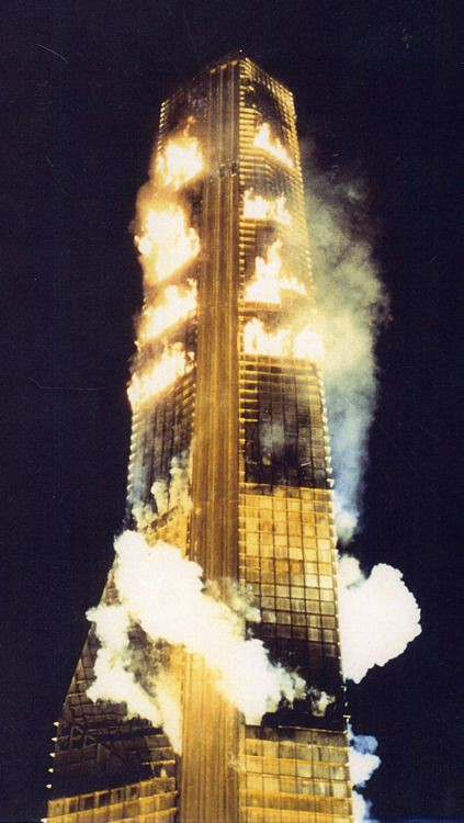 Best Cinematic Tribute to America's Firefighters? Try The Towering Inferno