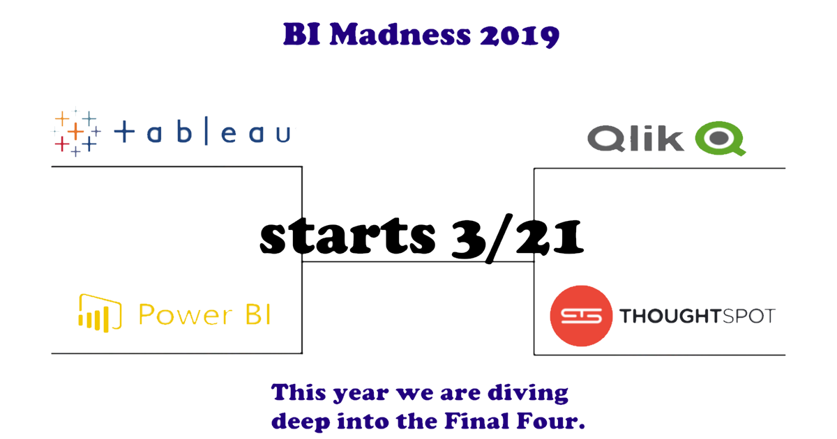 Countdown to BI Madness 2019