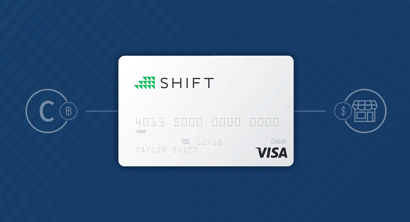 Image result for shift card crypto