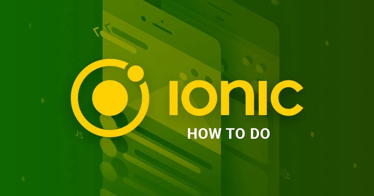6d38af9d7 How to do with Ionic 3  1 – Ionic Theme – Medium