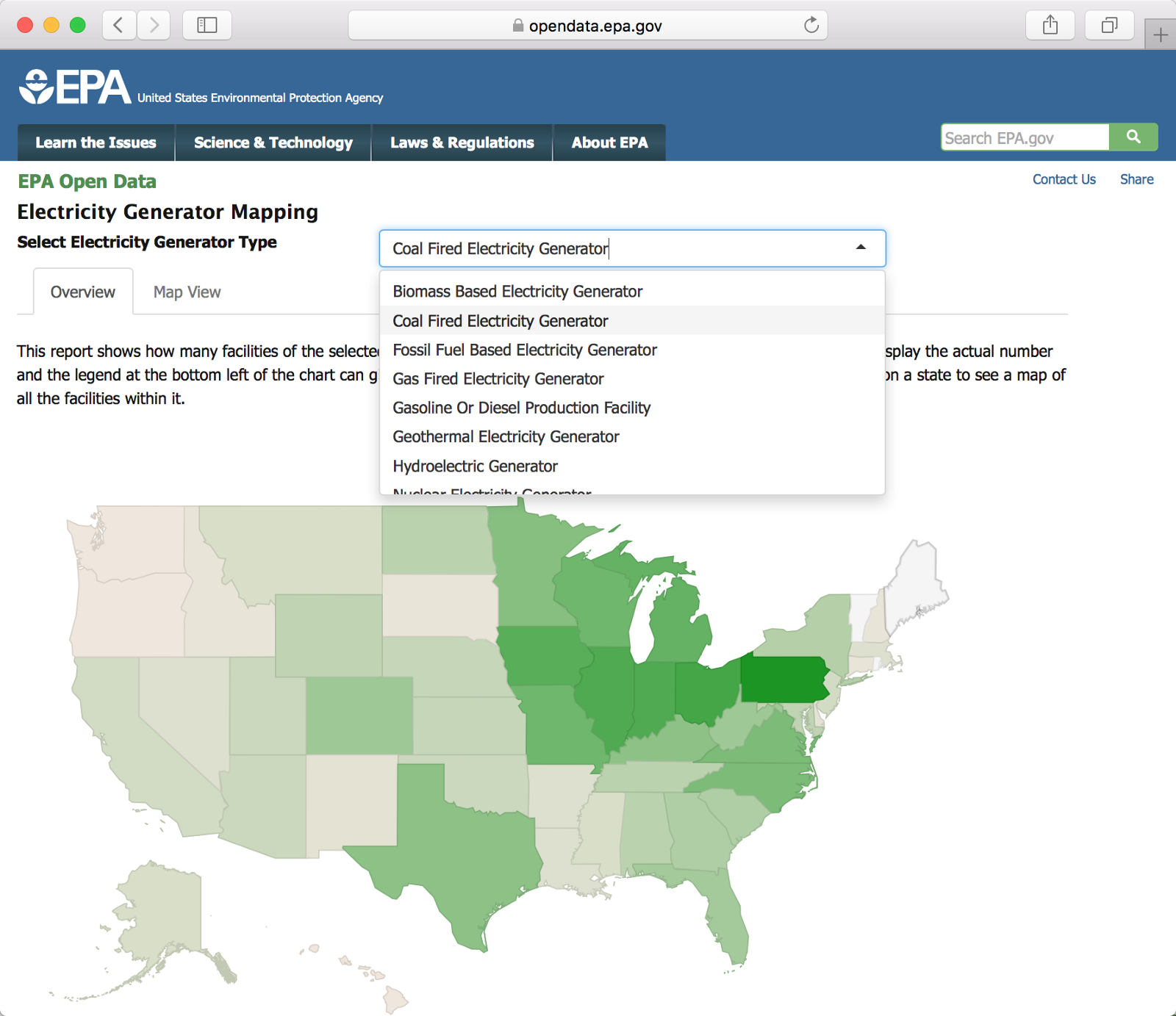 US EPA Confirms Continuity Of Open Data Service Beyond Apr - Map of nuclear plants in us 2017