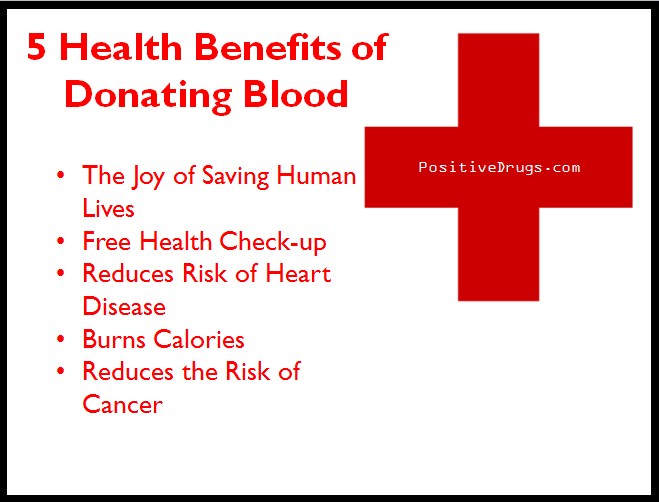 The Benefits of Donating Blood