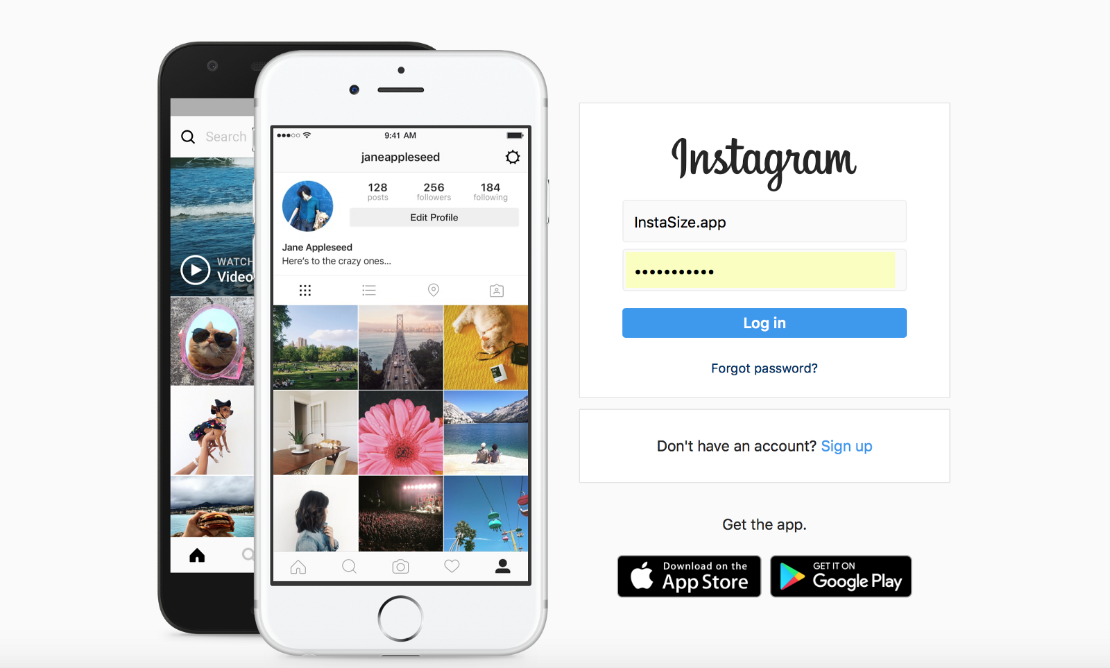 How to enlarge instagram profile picture | How to resize image for