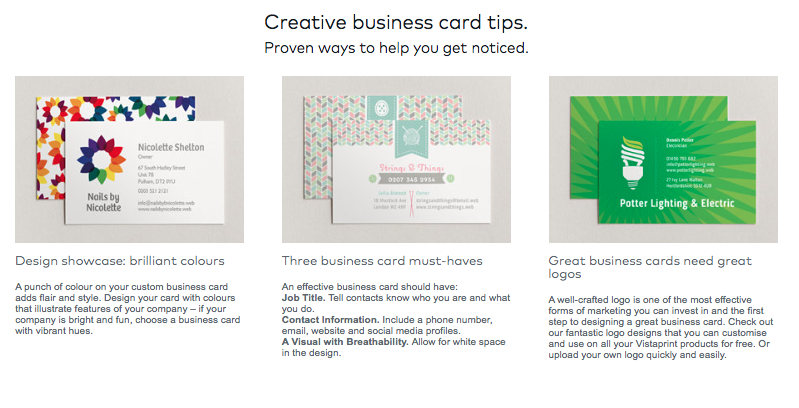 Business card research rebecca mooney medium vistaprints business card tips text from image colourmoves