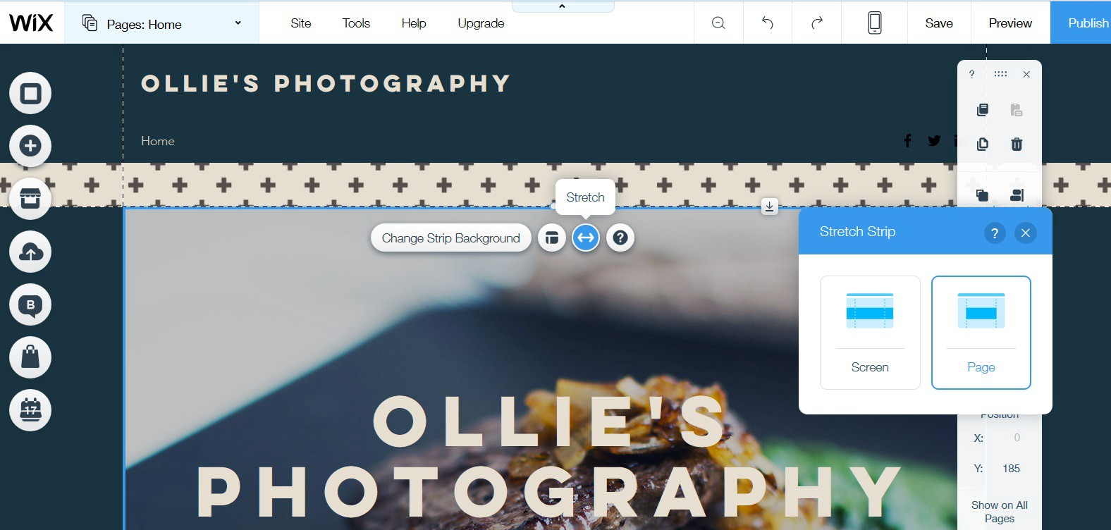 Basic Layout Background Settings In Wix Editor Secret Tip For