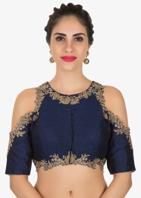 Interestingly Well Crafted Saree Blouse Designs For A Gorgeous Get Up