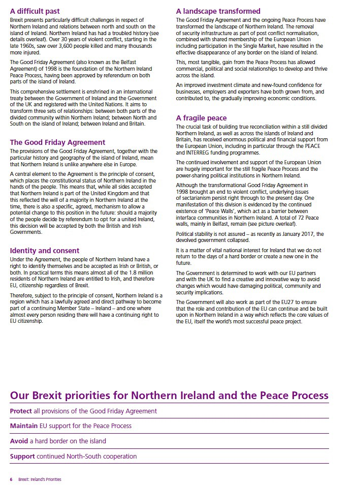 Brexit The Hard Border And The Good Friday Agreement A Compendium
