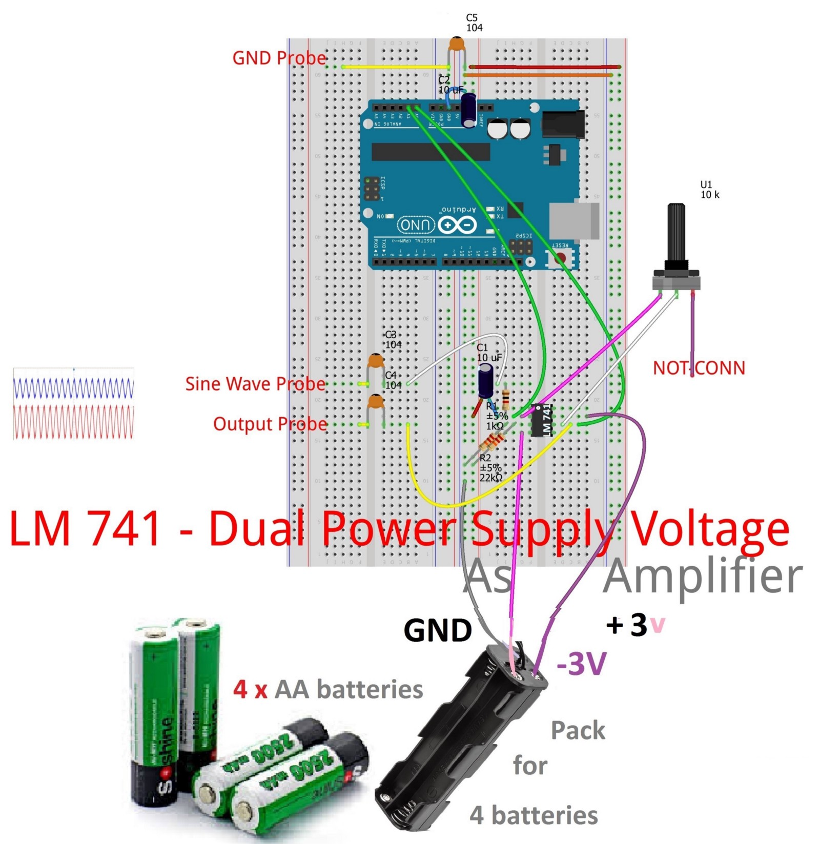 Lm741 As Comparator Opamp Jungletronics Medium Astable Circuit Using Lm741hc Operational Amplifier Output Frequency In A Closed Loop Configuration Negative Feedback Is Used By Applying Portion Of The Voltage To Inverting Input