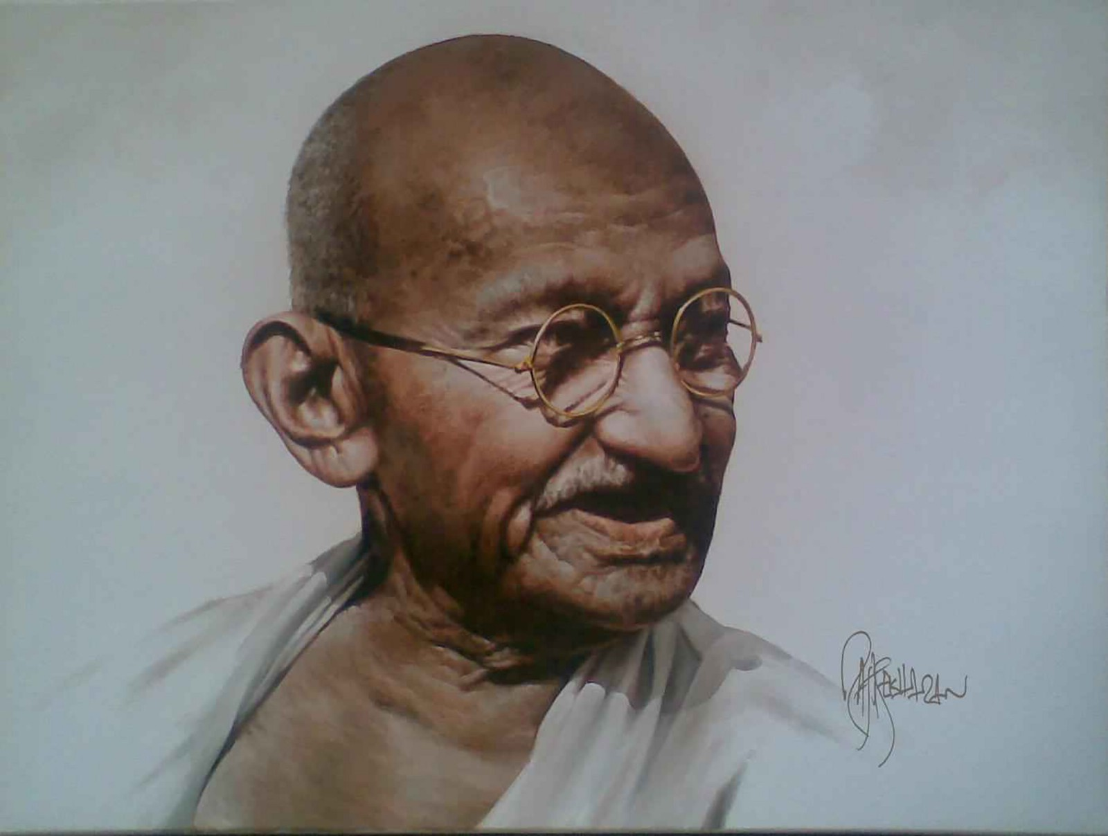 Seventy-Seven Year Old Message From Gandhi to Reach For Your Goals