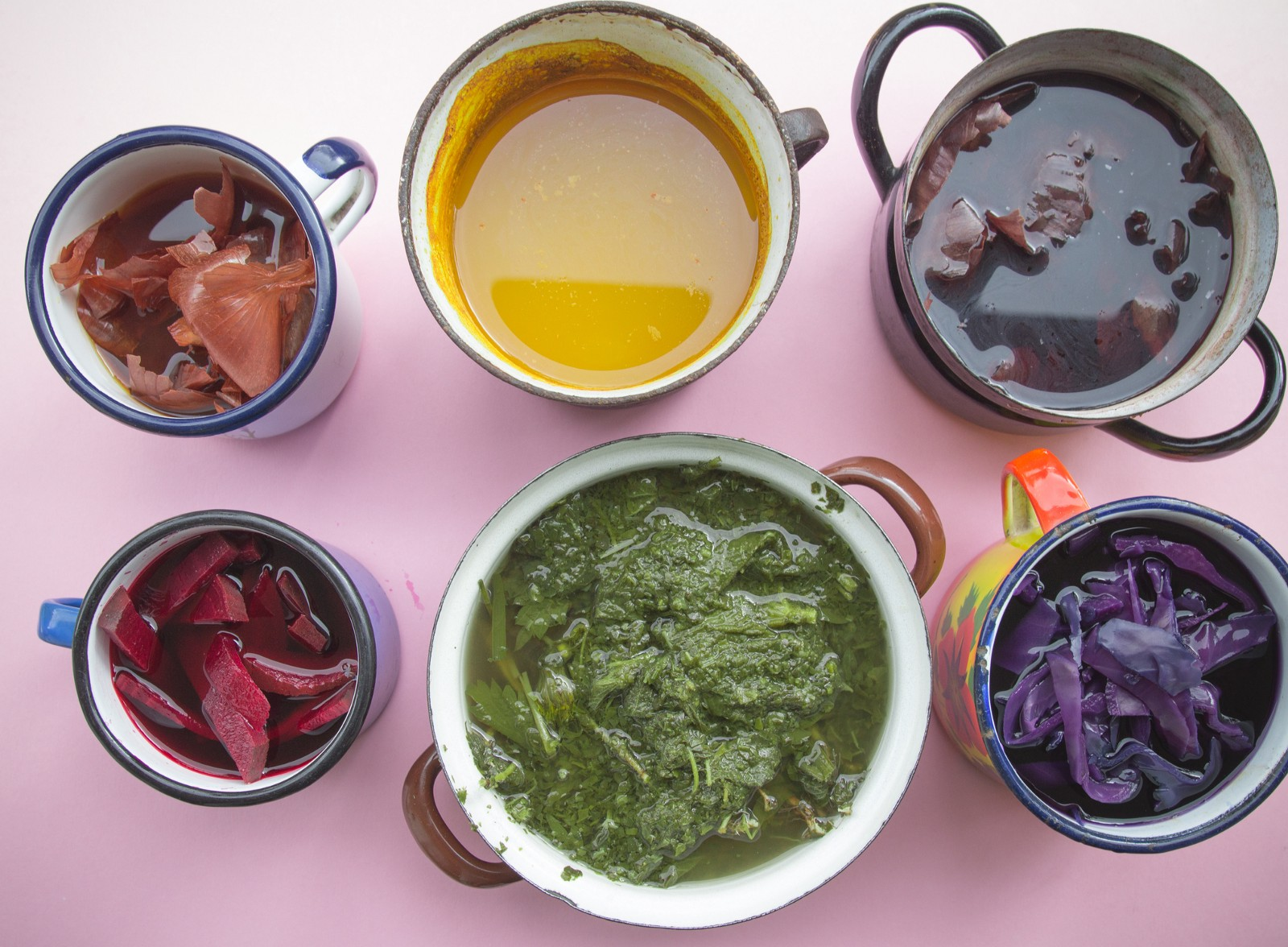 A Second Life for Scraps: Making Natural Dyes with Fruits and Vegetables