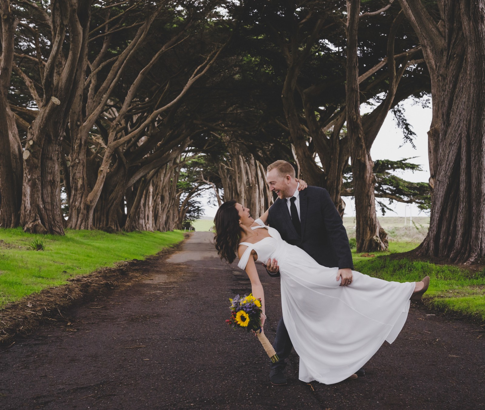On February 25 2017 Kyle And I Stood Together Under The Cypress Tree Tunnel In Point Reyes National Park Exchanged Our Wedding Vows
