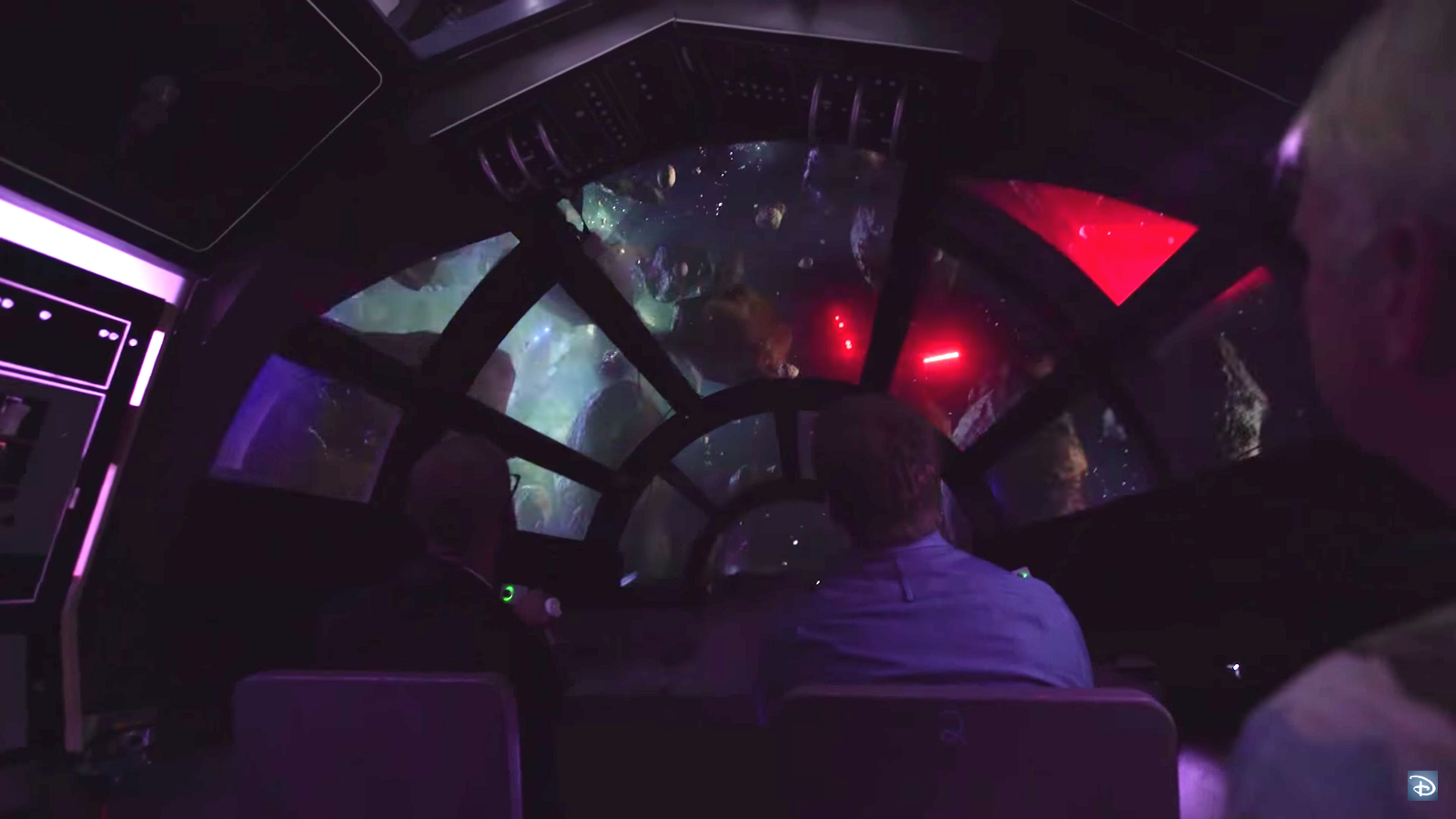 One Of The Lands Two Major Attractions Will Be An Interactive Simulator Ride That Could Easily Make Star Tours Seem Very Dated And Irrelevant
