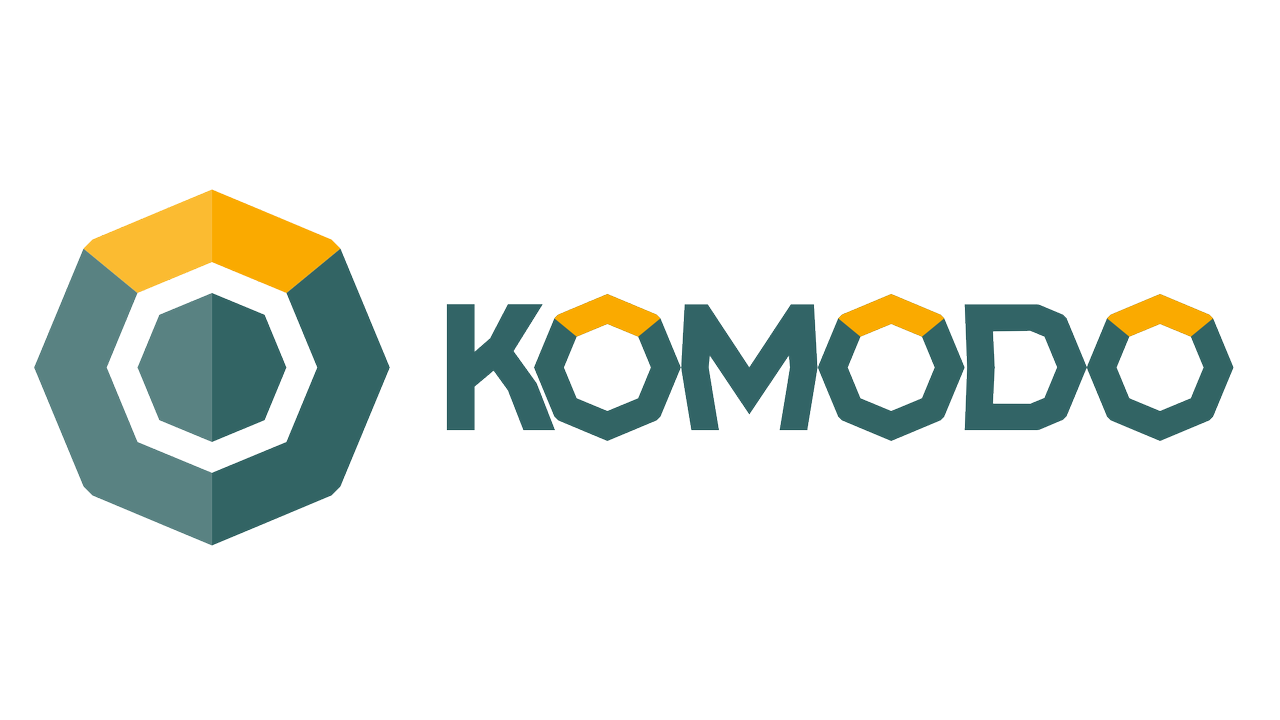 Komodo blockchain logo - end of 7 most popular privacy coins review