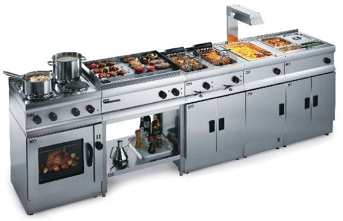 how to set up a commercial kitchen