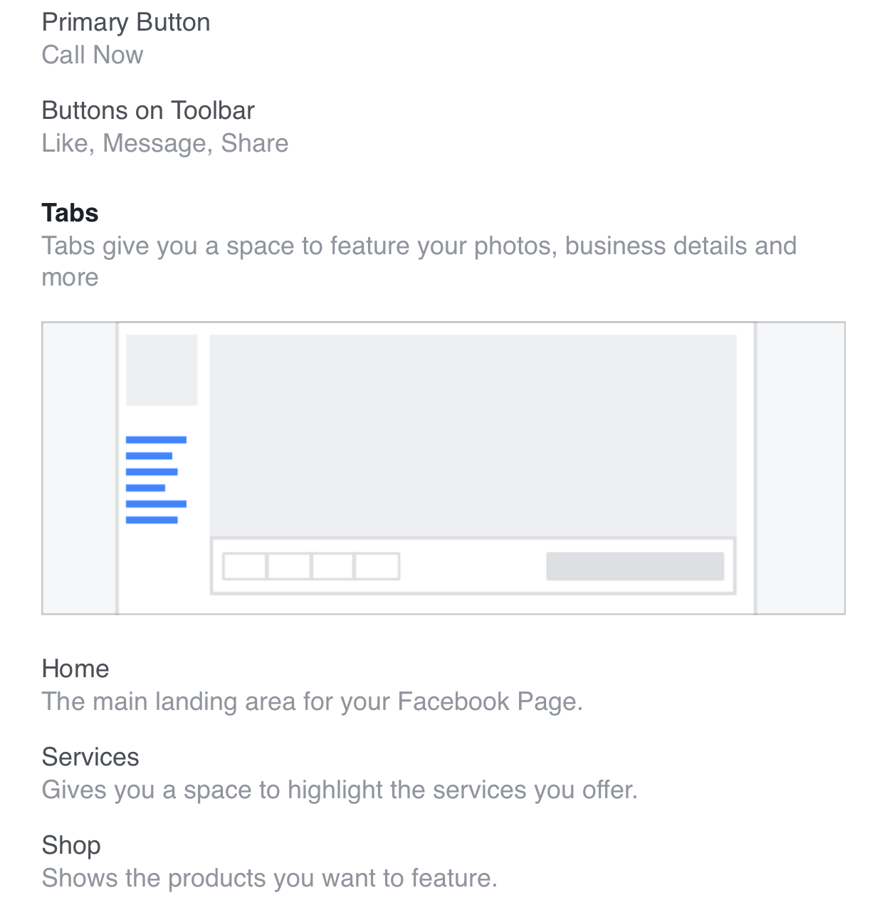 New facebook business page templates subsign medium it also states at the bottom when you apply this template we will replace existing buttons and tabs fbccfo Gallery