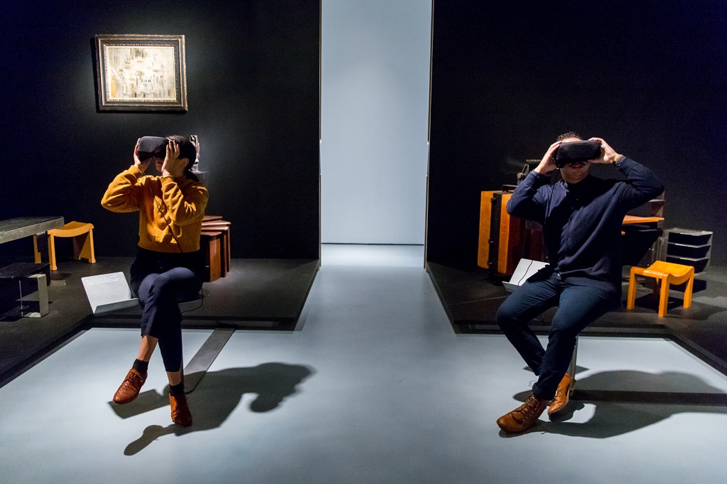 D Virtual Reality Exhibition : The paradox of virtual reality jewish museum