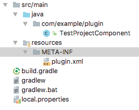 Developing Android Studio plugins with Gradle