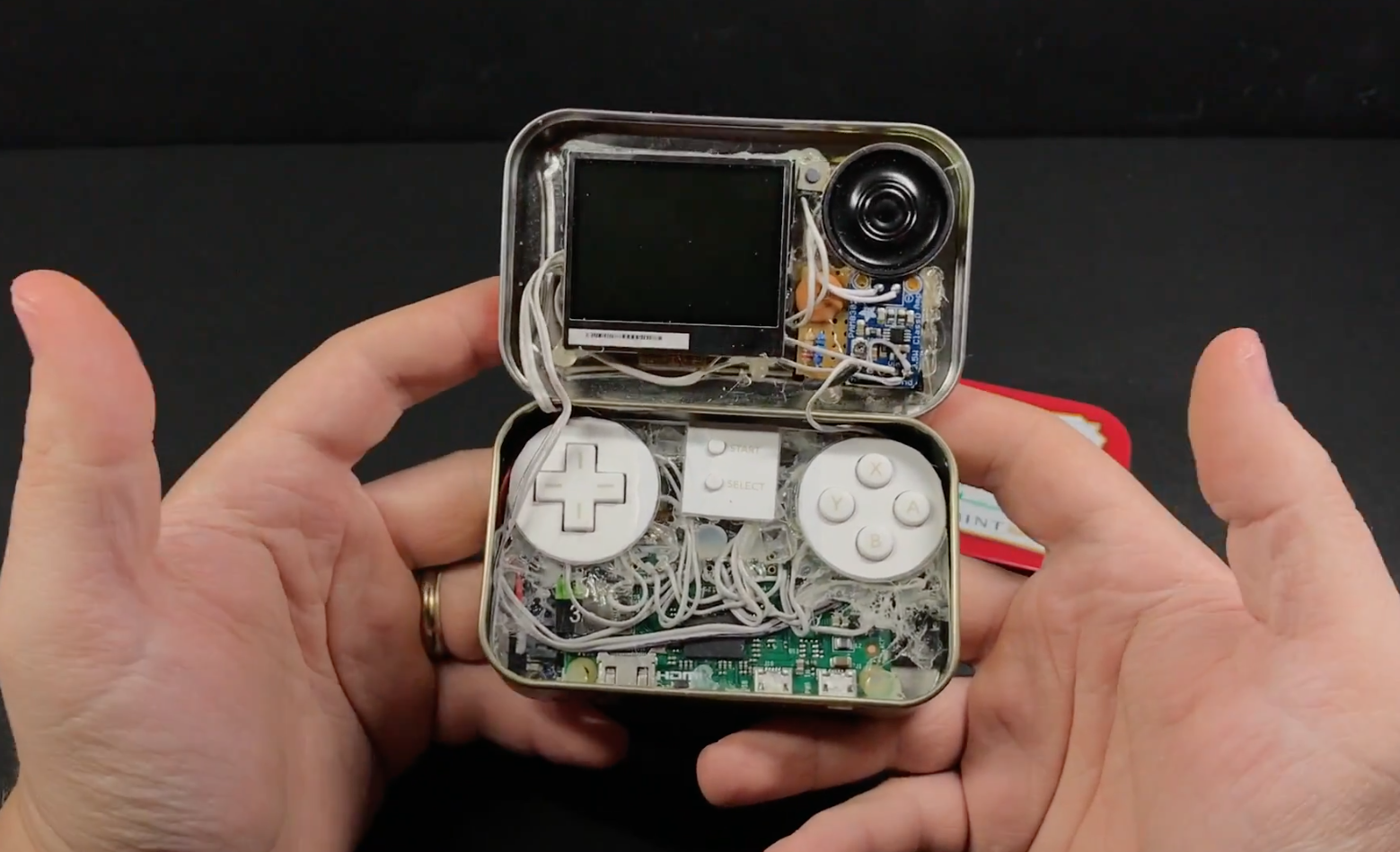 This Altoids Tin Packs A Pi Zero W Gaming System