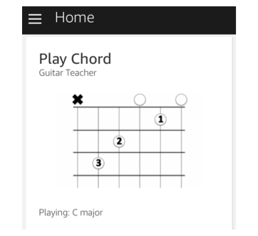 I needed a guitar teacher. So I turned my Alexa into one.