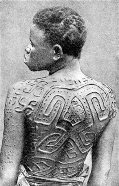 African Tattooing (Scarification)