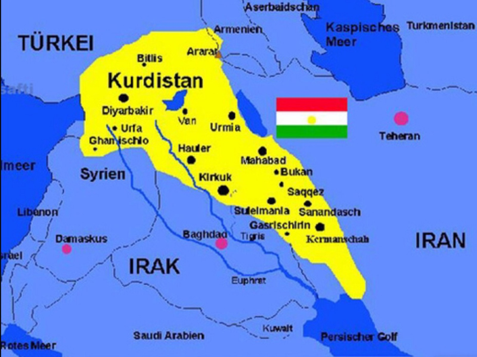 Kurdistan why it is not on the map mrkailani medium this is just a random map i found on the internet that i thought was inaccurate i know for a fact that kurdistan does not reach the persian or arabian sciox Image collections