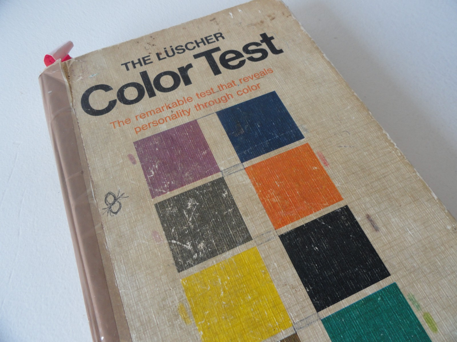Luscher Color Test Book