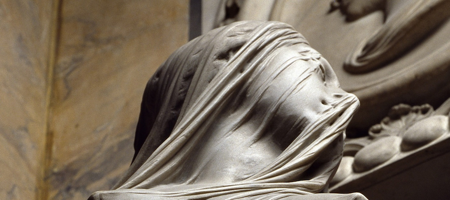 Image source http://thingsworthdescribing.com/2013/08/01/antonio-corradinis-veiled-sculpture/