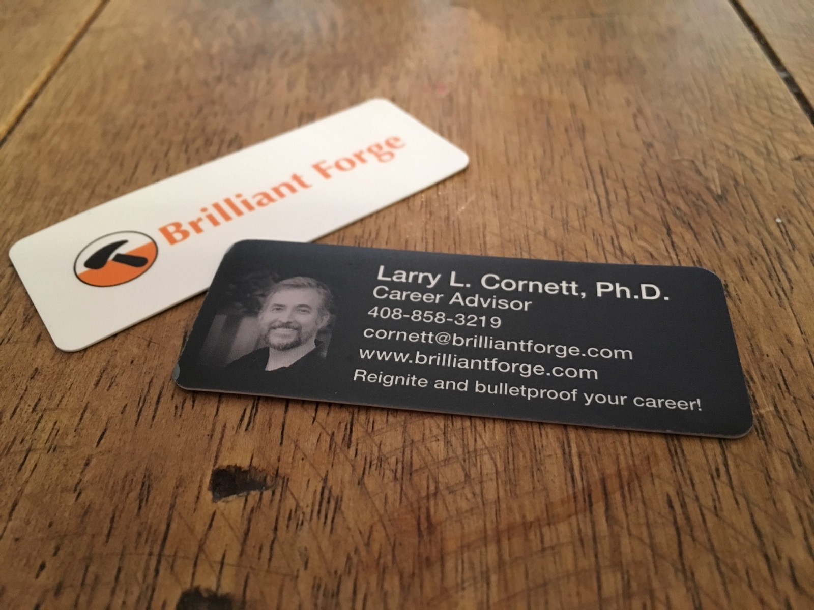 its my preferred way to learn more about someone with whom im interested in doing business - Photo Business Cards