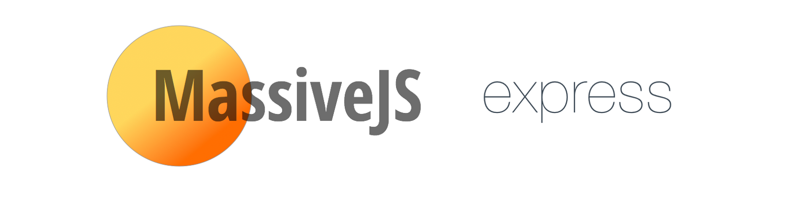 RESTful api with MassiveJS and express