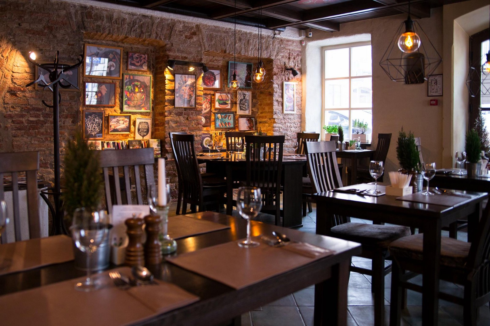 One For All Is A Nice Restaurant Where You Will Enjoy Dishes From Diffe Countries Over The World Including Lithuanian Ones