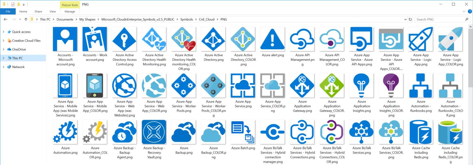 Microsoft Azure Symbol Icon Set Download Visio Stencil Png And Svg