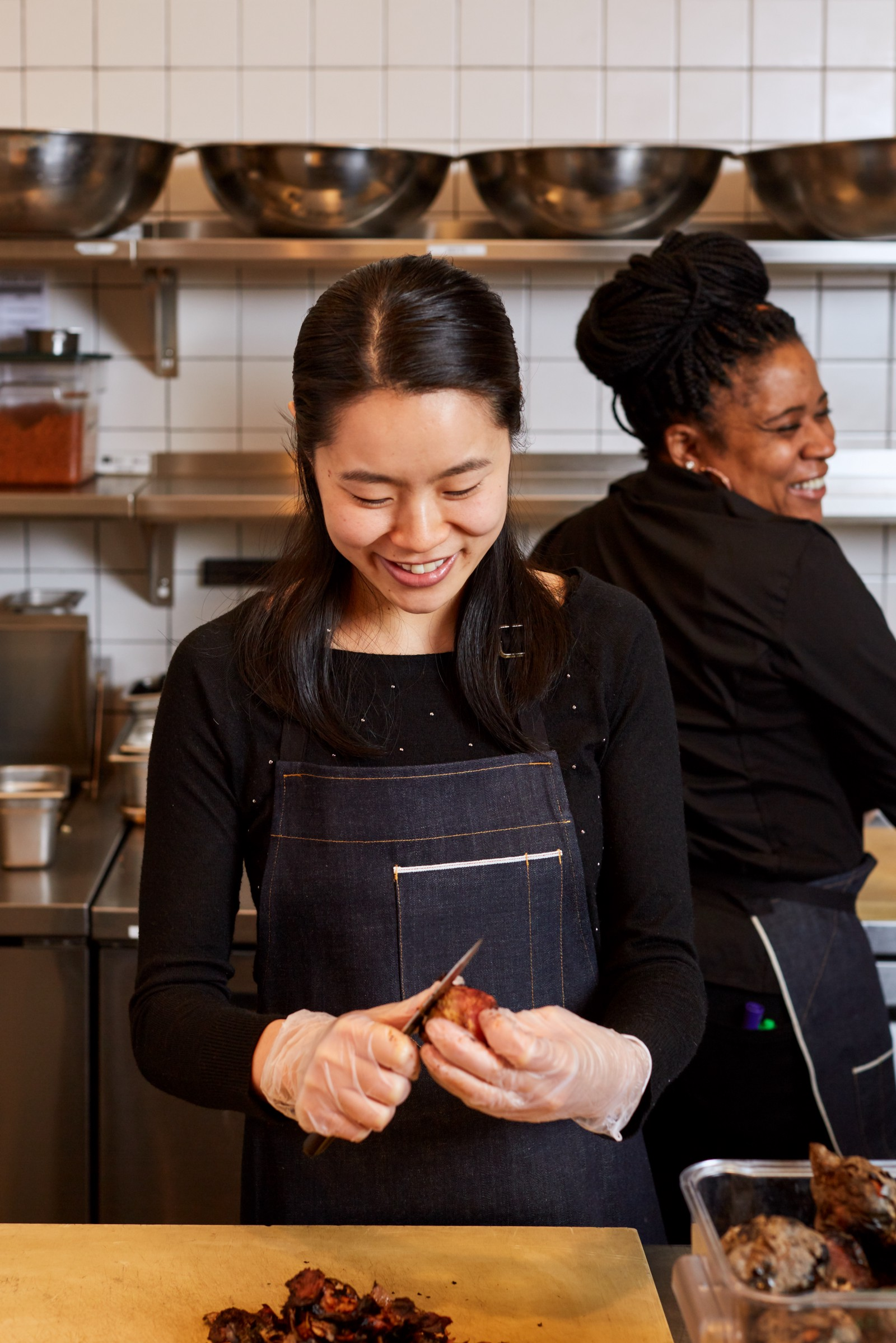 Woman up meet the women running dig inns kitchens stephanie is head chef at 80 pine st in fidi only 26 shes been in the restaurant industry basically since birth when she was growing up in forest hills m4hsunfo