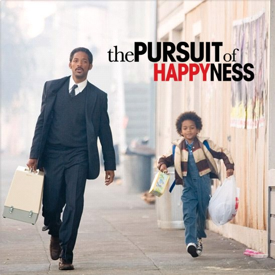 Pursuing Happiness is ...