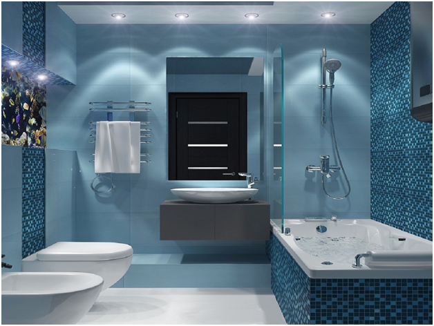 With What To Combine A Blue Color In An Interior