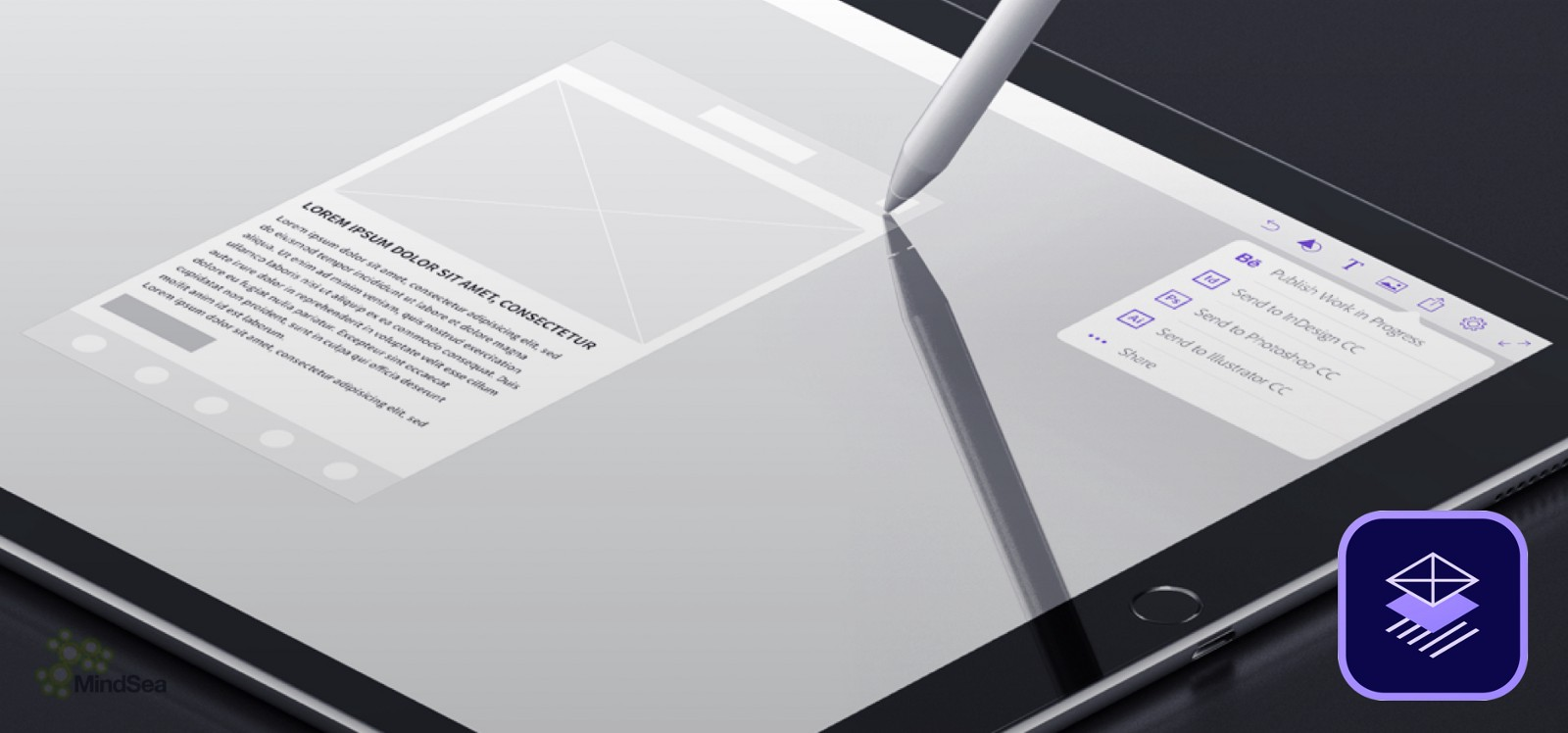 A ux designers review of ipad pro mindsea medium simply draw a square with three lines in it and the app renders the desired result want a perfect rectangle simply draw one and adobe comp cc will do the malvernweather Gallery