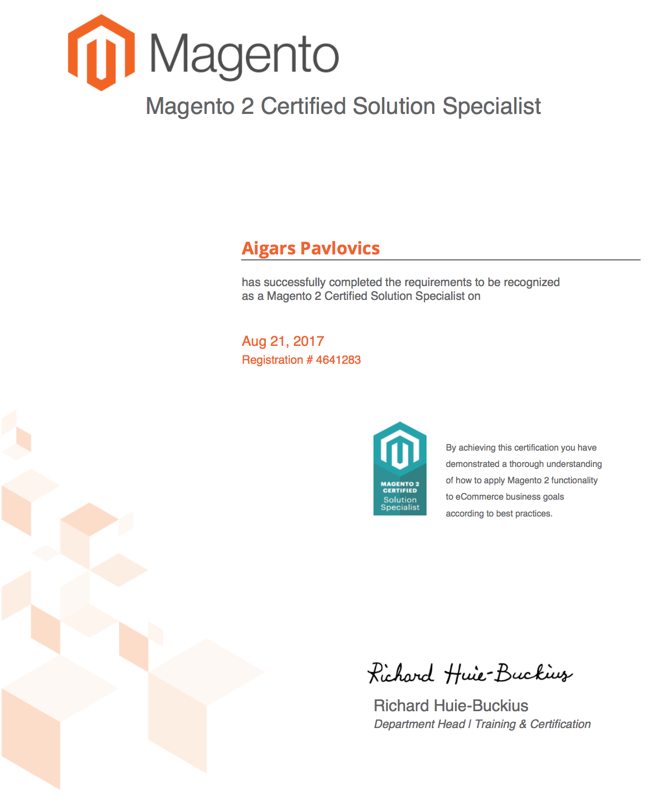 Magento 2 Certified Solution Specialist Exam How To Pass What To