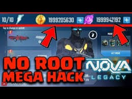 nova legacy apk unlimited money