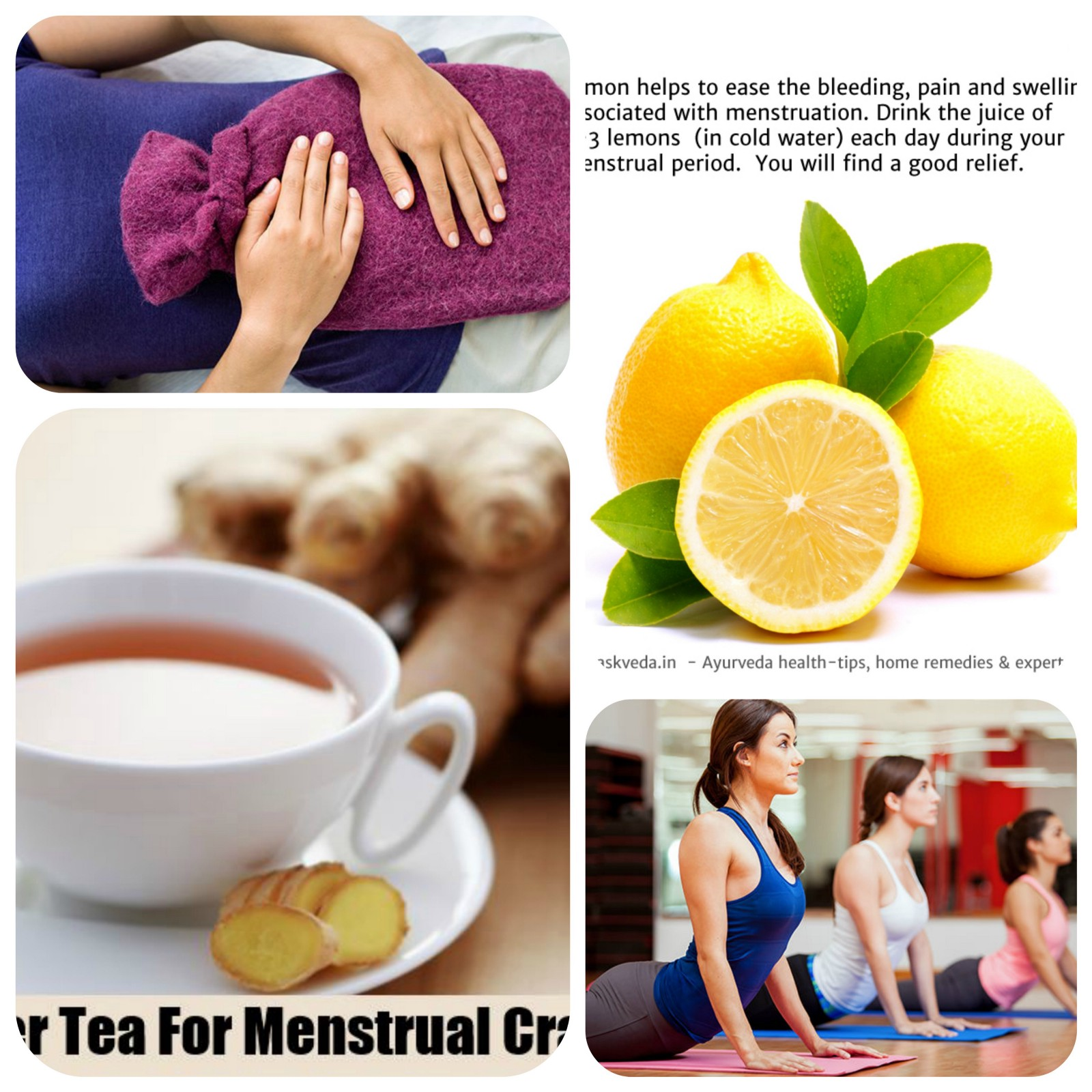 What is the cause of pain during menstruation