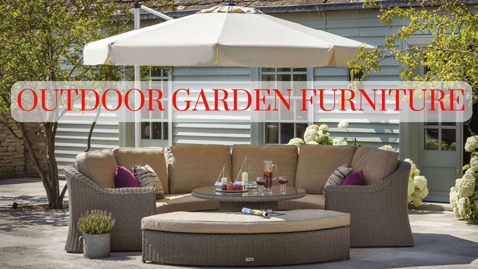Good A Brief Overview Of Different Types Of Outdoor Garden Furniture