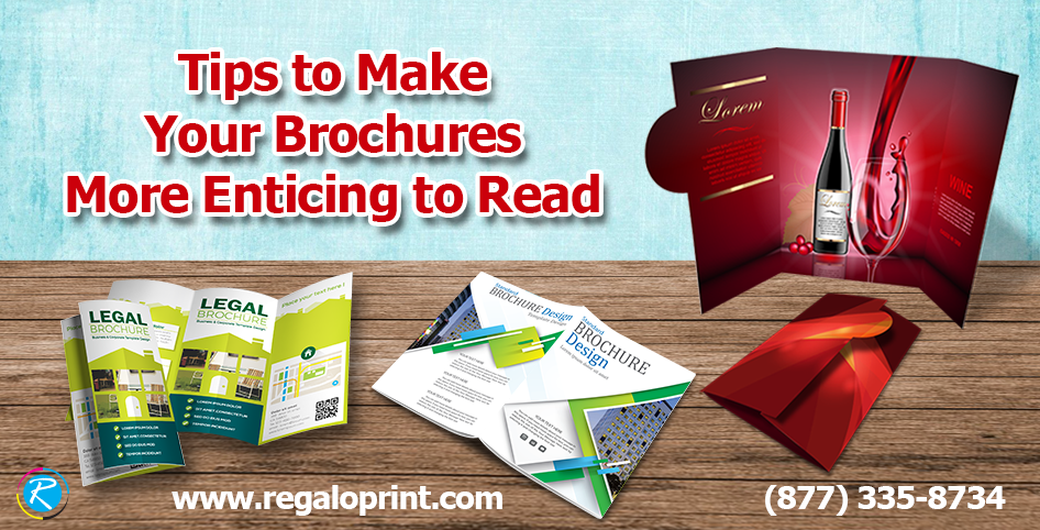 design tips to make your product and service brochures more enticing